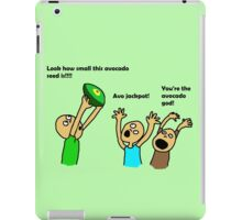 Vegans are obsessed with avocados iPad Case/Skin