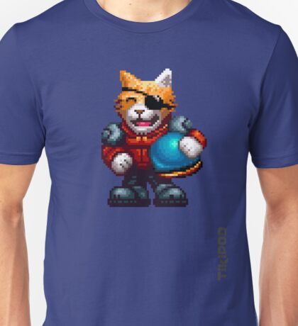 AQUA KITTY - Pilot large Unisex T-Shirt