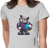 AQUA KITTY - Pilot 2 large Womens Fitted T-Shirt