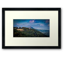 Landscape Wales United Kingdom Framed Print