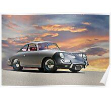 Porsche 356 w/Bra Poster