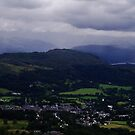 View from the summit of Wansfell Pike. by littleredbird