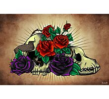 Black Rose Photographic Print