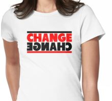 Change Mirror View Womens Fitted T-Shirt