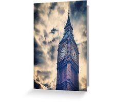 Big City Sky Greeting Card