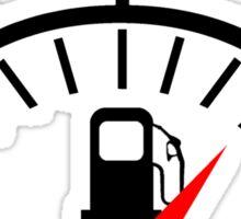 Fuel Gauge Sticker
