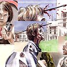 Walking Dead sketchcards by wu-wei