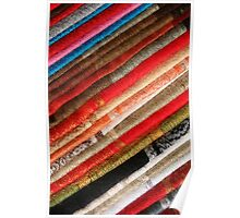 Colorful Table Cloths Poster