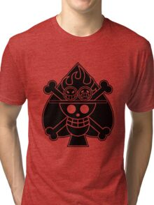 Ace - OP Pirate Flags Tri-blend T-Shirt