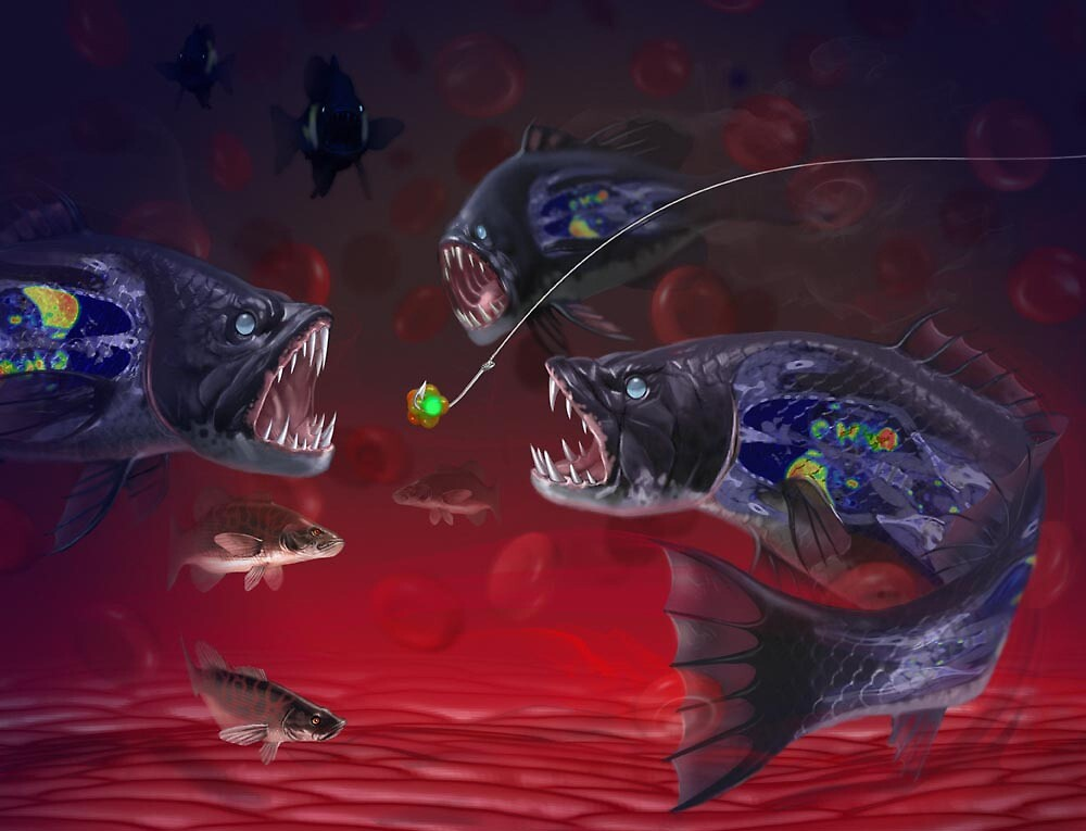 Cancer fish by Jim rownd