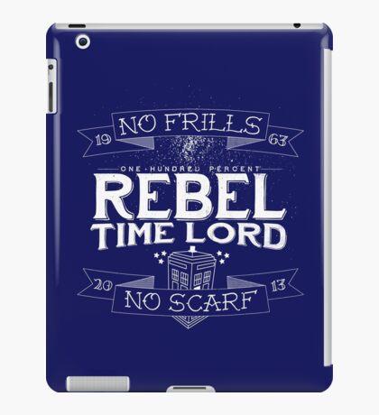 Rebel Time Lord iPad Case/Skin