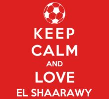 Keep Calm And Love El Shaarawy by Phaedrart