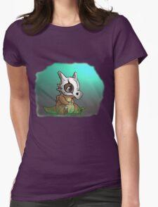 Cute Cubone Womens Fitted T-Shirt