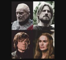 Lannister Family - Game of Thrones by Marjuned