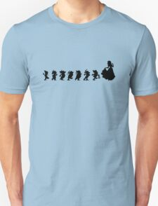 Snow White Silhouette  T-Shirt