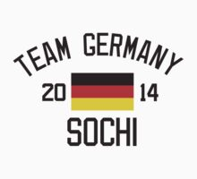 Team Germany - Sochi 2014 by monkeybrain