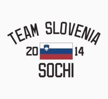 Team Slovenia - Sochi 2014 by monkeybrain