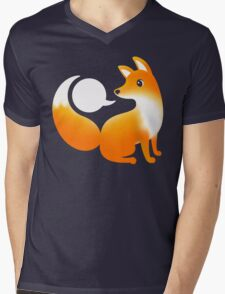 WHAT DOES A FOX SAY? Mens V-Neck T-Shirt