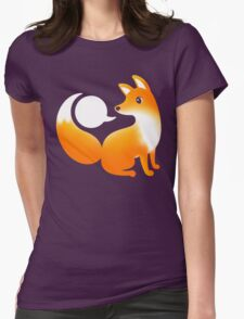 WHAT DOES A FOX SAY? Womens Fitted T-Shirt