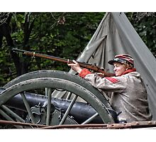 Don't Shoot! (for zpawpaw) Photographic Print