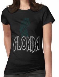 FISH FLORIDA VINTAGE LOGO Womens Fitted T-Shirt
