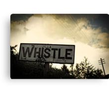 Whistle Stop Canvas Print