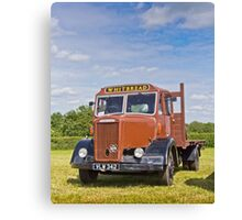 Dennis, the Brewery Truck Canvas Print