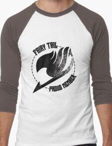 Fairy Tail - Proud Member Men's Baseball ¾ T-Shirt