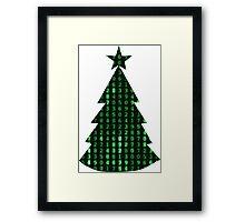 Christmas in the matrix Framed Print