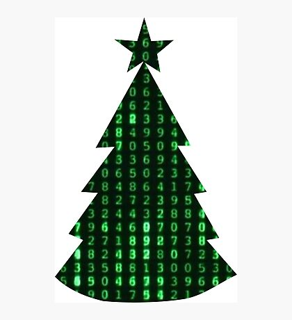 Christmas in the matrix Photographic Print