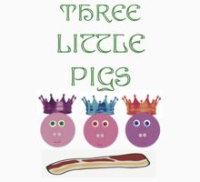 Three Pigs by Danielle Morin