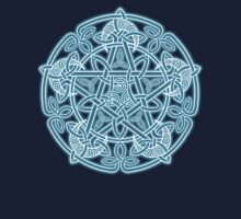 Celestial Celtic Knotwork Pentacle T-Shirt
