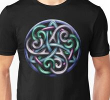 Celtic Triskele Knotwork  Unisex T-Shirt