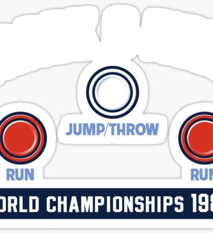 Track & Field World Championships Sticker