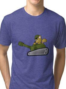 CAT TANK!!! Tri-blend T-Shirt