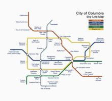 Bioshock Infinite - Columbia Sky-Line Map by chubbyblade