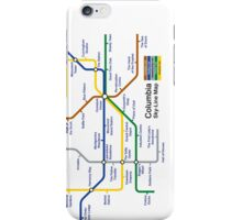 Bioshock Infinite - Columbia Sky-Line Map iPhone Case/Skin