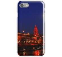 Full Moon over the Country Club Plaza in Kansas City. iPhone Case/Skin