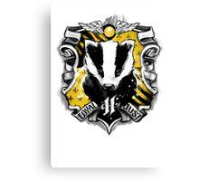 H Crest Canvas Print