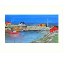 East Coast Colour Art Print
