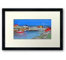 East Coast Colour Framed Print