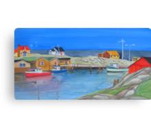 East Coast Colour Canvas Print