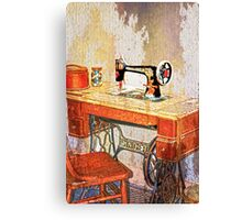 Sew History in the Making Canvas Print