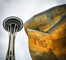 Seattle Space Needle  by SaraMichelle