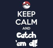 Catch 'em All! Kids Tee