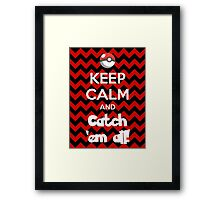 Catch 'em All! Framed Print