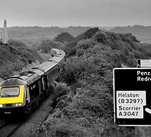 HSt at Scorrier  by Rob Hawkins