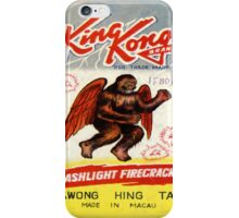 Vintage Firecracker Pack iPhone Case Series: King Kong, Bitches iPhone Case/Skin