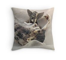 An Oyster Bed For A Fairy Throw Pillow