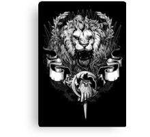 Lannister Lion Canvas Print